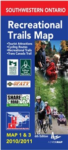 Southwestern Ontario Trails Map