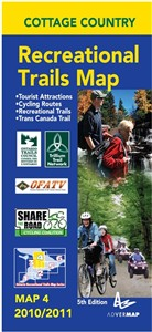 Cottage Country Trails Map